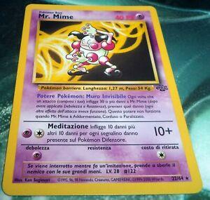 Pokemon Mr Mime 22/64 - Rare Jungle EX (Italian)