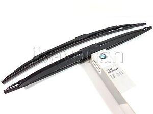 Genuine BMW Wiper Blade Set E34 5 Series / E32 7 Series European