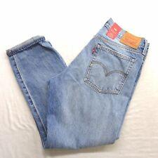 Levi's Womens Wedgie Icon Fit White Oak Stretch Denim Capri Jeans Sz 30 X 28