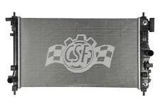 Radiator-1 Row Plastic Tank Aluminum Core CSF 3578 fits 11-13 Buick Regal