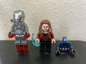 SCARLET WITCH & WAR MACHINE - Lego Marvel Super Hero 76051 Airport Battle 76006