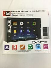 "Dual XDVD276BT 6.2"" LCD Touch Screen Double Din Multimedia DVD Receiver"