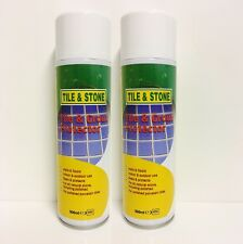 Tile & Grout Sealer and Protector - (2 x 500ml Aerosol)