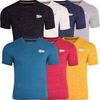 Mens North Play Essentials Basic V Neck T Shirt Short Sleeved Plain Fashion Tee