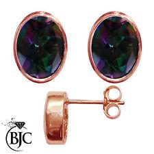 Butterfly 9 Carat Rose Gold Fine Earrings