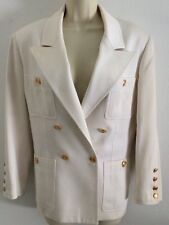 CHANEL JACKET,SIZE 40,PREOWNED