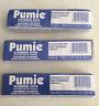 "(3) Pumice Professional use Pumie Scouring Stick 5 3/4"" x 3/4"" x 1 1/4"""
