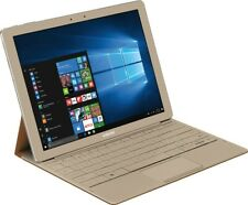 """Samsung Galaxy TabPro S 2-in-1 12"""" Touch-Screen Laptop 256GB SSD Keyboard, Gold"""