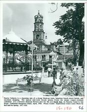 1985 Copper-Crowned Cathedral in Puerto Vallarta Original News Service Photo