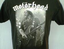 Hanes Black Large T-Shirt Motorhead Ian 'Flemmy' Kilmister Cotton