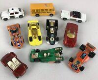 Lot of 10 VINTAGE Corgi juniors Matchbox WhizzWheels Cars 1970's