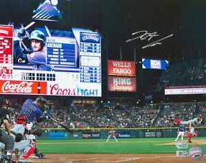 Rockies Nolan Arenado Authentic Signed 11x14 Photo Autographed Fanatics COA