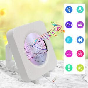 Tragbarer CD Player mit Bluetooth eingebauten HiFi Lautsprechern, Wandmontage DE