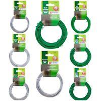 Multi Purpose Green Garden Wire & Galvanised Wire 1mm 1.2mm 1.6mm 2mm 3mm