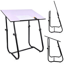 Drawing Desk Drafting Table Adjustable Art Craft Workstation Hobby White New