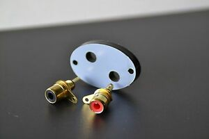 phono RCA conversion kit/ adapter for SME 3009/3012 SERIES 2 LONG CAN
