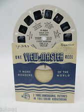 View-Master Reel SP-9030, Gloucester And North Shore, MA, Single Reel