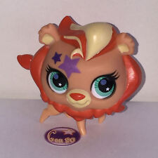 Littlest PetShop LION ORANGE AVEC ETOILES 2690 PET SHOP m043