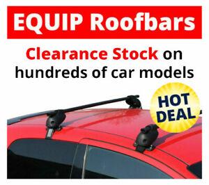 Skoda Octavia 4 Door 2004 - 2012 Equip Roof Rack Bars CLA087