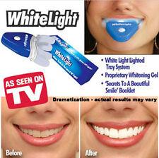WHITE LIGHT SMILE  Platinum Light Teeth Teeth Whitening Stain Remover System