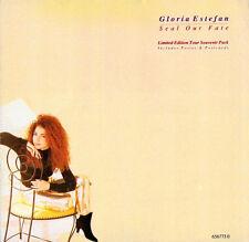 """Gloria Estefan Seal Our Fate 7"""" Vinyl UK Epic 1991 Limited Edition Tour"""