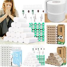 16 Rolls Pack Toilet Paper Rolls 4 Ply Bath Tissues Luxury Paper Wipe & Clean Us