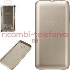 funda Potencia Cubierta texto original en Samsung G928F Galaxy S6 Edge+ oro