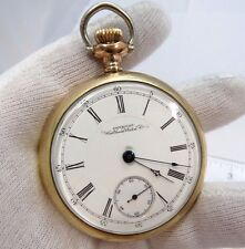 WALTHAM/American WC,1883,Grade 15,17j Railroad 18s,GF,Open Face POCKET WATCH,292