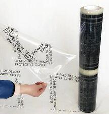 Auto Car Carpet Floor Mat Self Adhesive Protective Film 24x350 4 MIL Free Ship