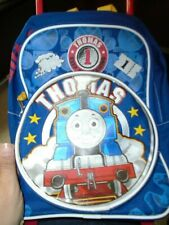 CHILDS THOMAS THE TRAIN  LUGGAGE/BACKPACK ON WHEELS - USED