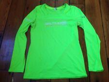 Under Armor Baltimore Running Festival 2013 Green Neon High Visibility Shirt S
