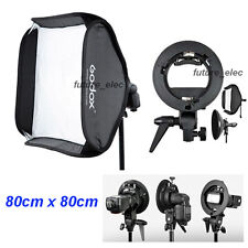 "Godox 80 x 80cm 32"" Umbrella Continuous Video Light Soft Box Softbox for Strobe"