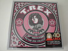 "T. Rex: 40th Anniversary Picture Disc Collection (5 x 7"") RSD 2018"