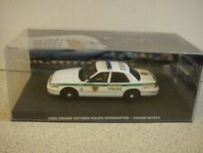 eaglemoss - james bond 007. - Ford Crown Police car. - 1/43 scale . issue 100.