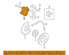 GM OEM Front Brake-Disc Caliper 88966985