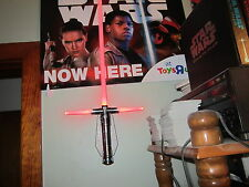 """STAR WARS TOY'S R US EXCL. 2015 (KYLO REN EDITION """"LIGHTSABER"""" ROOM LIGHT)!!!*"""