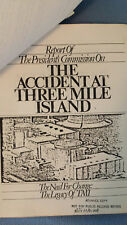 Advance Copy President's Commission on the Accident at Three Mile Island nuclear