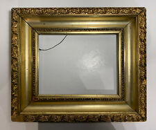 Antique American Gesso Gold Frame For Landscapes Paintings And Works Of Art