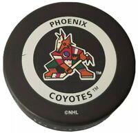 PHOENIX COYOTES NHL VINTAGE OFFICIAL GAME PUCK GARY B. BETTMAN INGLASCO - CANADA