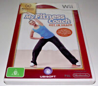 My Fitness Coach: Get In Shape Nintendo Wii PAL *Complete* Wii U Compatle