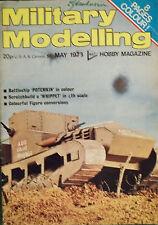 """MILITARY MODELLING"" Hobby Magazine,May 1973 Vintage!!!"
