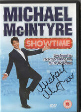 MICHAEL MCINTYRE - Signed DVD - COMEDY - SHOWTIME LIVE AT THE O2