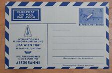 MayfairStamps Australia 1968 FISA Congress Wien Aviation Mint Stationery Aerogra