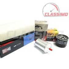 Air, Oil & Fuel Filter Service Kit for RENAULT CLIO Mk3 - 1.4 1.6 16v -2005-2012