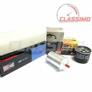 Air, Oil & Fuel Filter Service Kit for RENAULT CLIO Mk3 - 1.4 1.6 16v -2005-2012