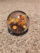 "Resin Flower Daisy 3"" Paper Weight"