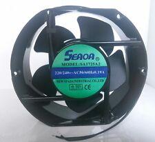 1 PCS SEADA Fan SA1725A2 AC 220/240V 50/60Hz 0.19A 2 Wire