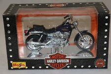 MAISTO moto 1/18 HARLEY-DAVIDSON FXDL DYNA LOW RIDER 1999 + boite , état neuf