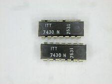 "ITT7430N  ""Original"" ITT  14P DIP TTL IC  2  pcs"