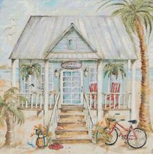 Life's a Beach - Beach House Cross-Stitch DIGITAL Counted Pattern Needlepoint